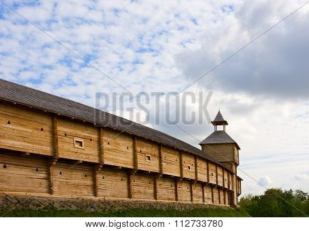Ancient Wooden Fortress