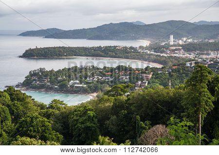 Western Phuket From Karon View Point, Phuket,  Thailand
