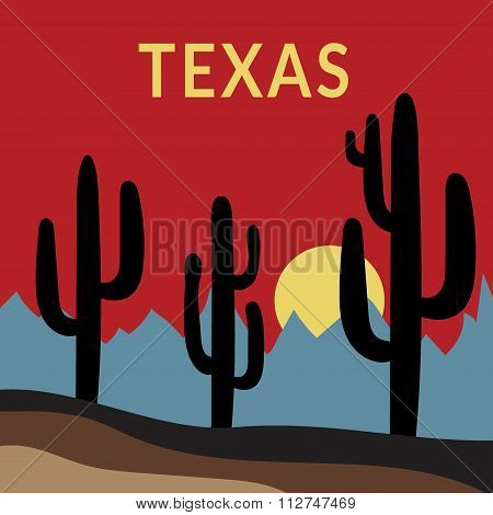 Texas t-shirt design 2