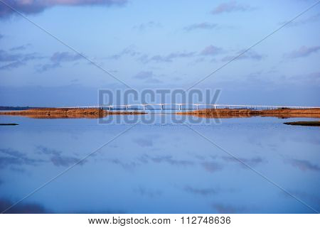 The Oland Bridge In Sweden
