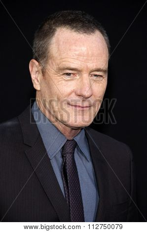 LOS ANGELES, CALIFORNIA - August 1, 2012. Bryan Cranston at the Los Angeles premiere of
