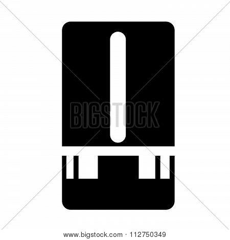 Weather Station Meter Icon Illustration Design