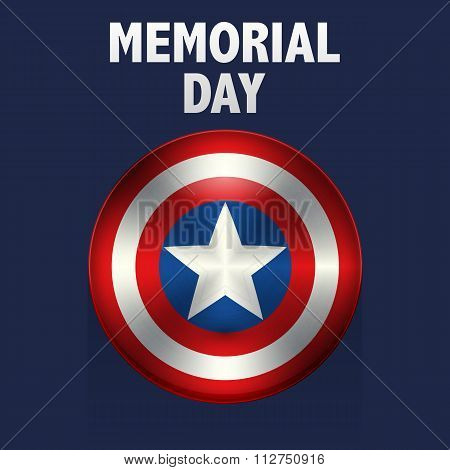 Vector illustration memorial day usa