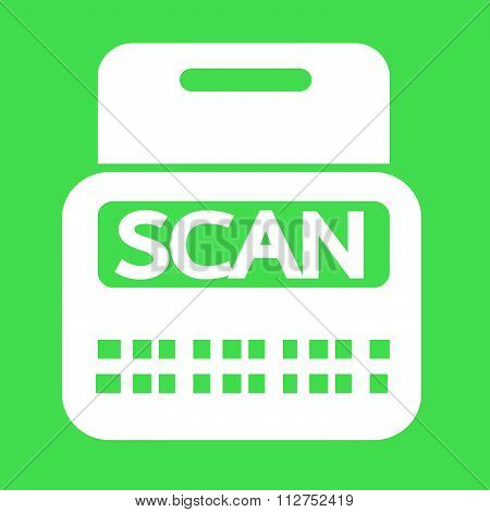 Scan Stock Icon Symbol Illustration Design