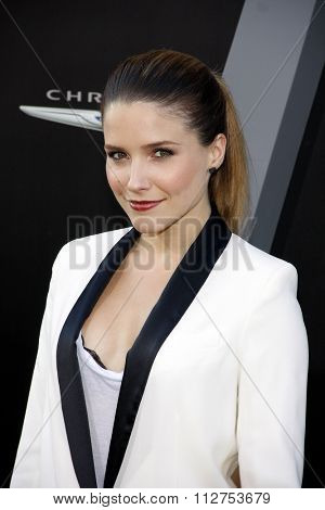 Sophia Bush at the Los Angeles premiere of