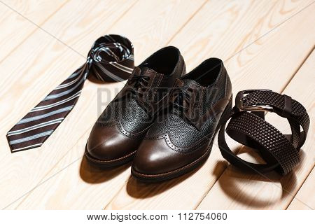 Set Of Mens Classic Style Accessory
