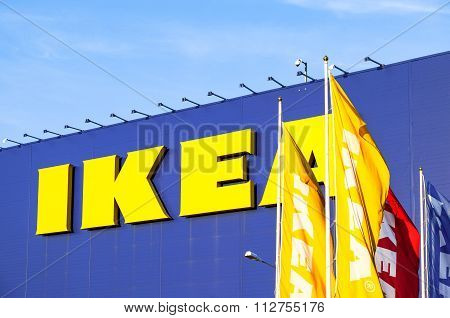 Ikea Samara Store. Ikea Is The World's Largest Furniture Retailer And Sells Ready To Assemble Furnit