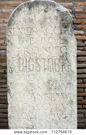 ROME, ITALY - JUNE 12, 2015: Museum of the baths of Diocletian (Thermae Diocletiani) in Rome. Italy