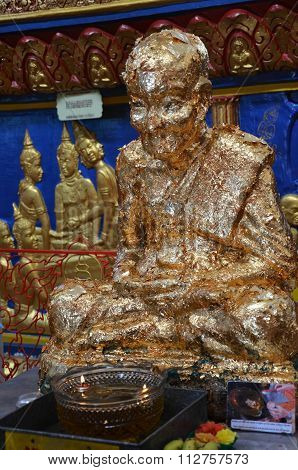 Bodhisattva At The Thai Temple At  Penang, Malaysia