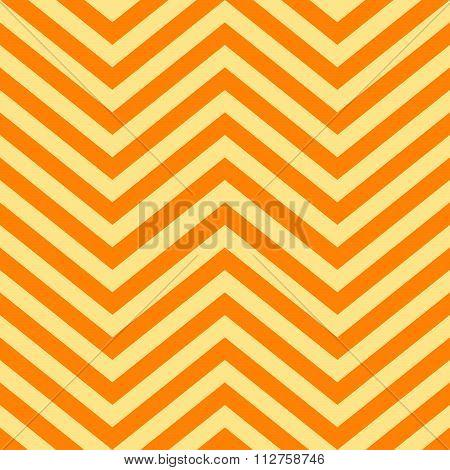 Background Of Yellow And Orange V Shape Patterns