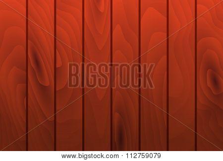 Vector Mahogany Wood Grain Texture Planks. Wooden Table Surface.