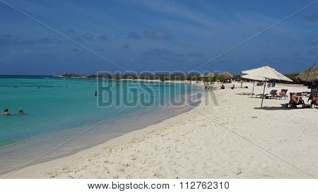 Arashi Beach in Aruba