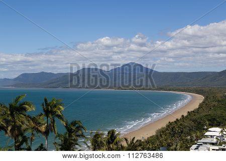 Trinity Bay lookout in Port Douglas, Queensland, Australia