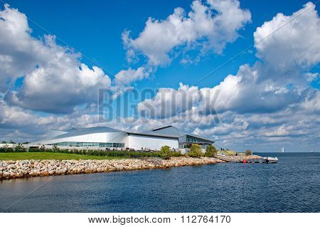 Copenhagen, Denmark - September 18: Blue Planet Aquarium On September 17 , 2015 In Malmo, Sweden. Bl