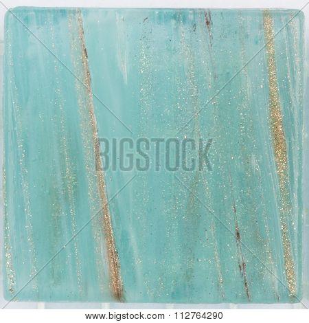 Turquoise Mosaic With Aventurine