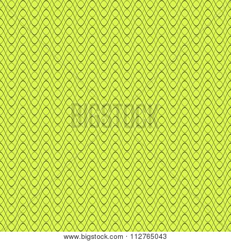 Abstract Seamless Pattern Of Horizontal Wavy Lines