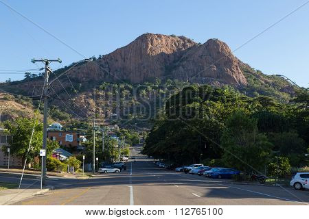 Castle Hill in Townsville, Australia