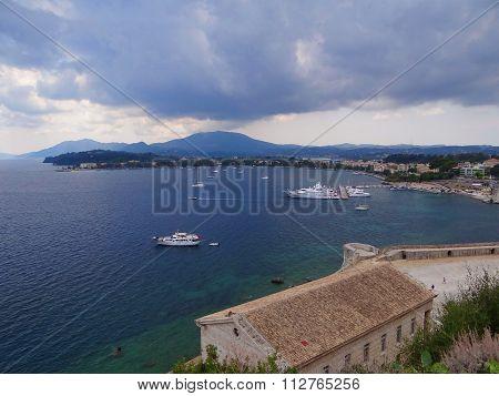 sea Bay with boats
