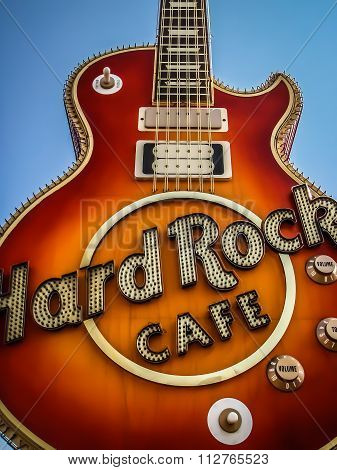 Les Paul - Hard Rock Café