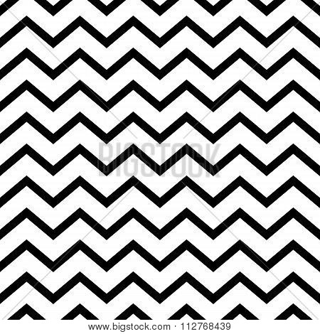 Vector illustration seamless pattern zig zag