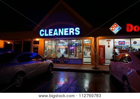 Quality Cleaners at Night