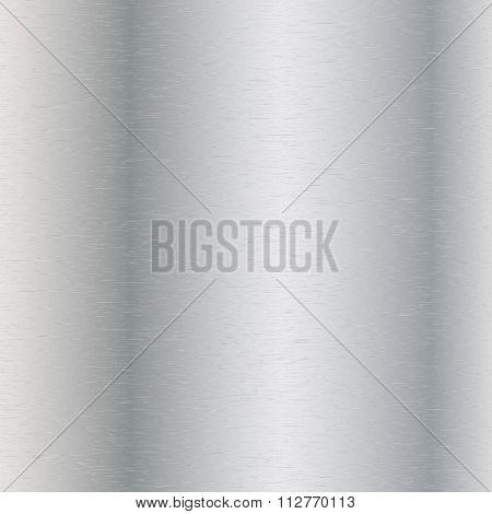 Vector illustration of steel texture