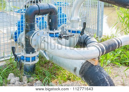 Pipes Irrigation System