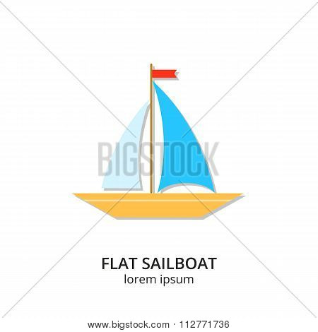 Sailboat icon.