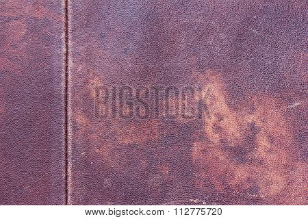 the texture of natural leather