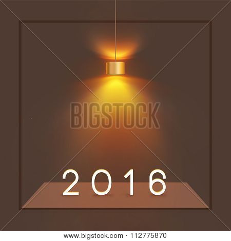 Happy New Year 2016 Concept 7