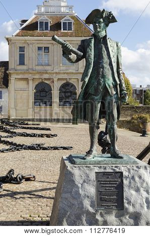 Statue in Norfolk