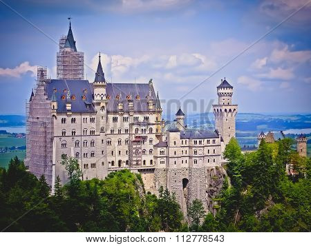 The Mad King's Castle - Neuschwanstein Castle - Fussen, Germany