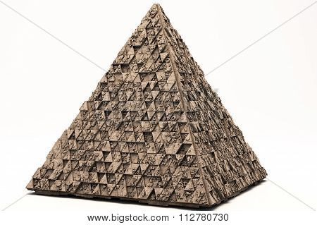 Mysterious Greeble Pyramid