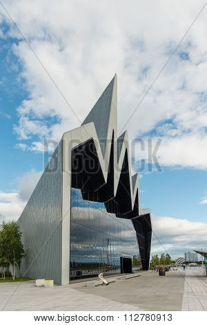 The Riverside Museum Glasgow, Scotland.