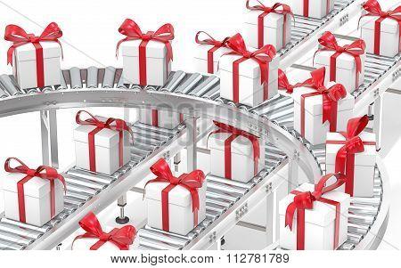 Gift Box Distribution.