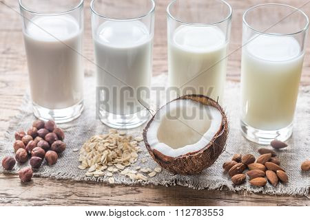 Different Types Of Non-dairy Milk
