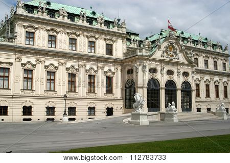 Architecture Imperial In Vienna, Austria