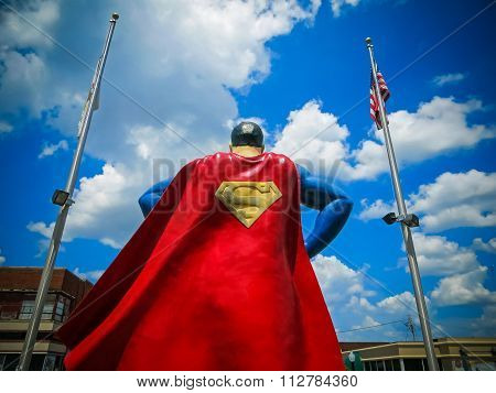 The Man of Steel - Superman In Metropolis