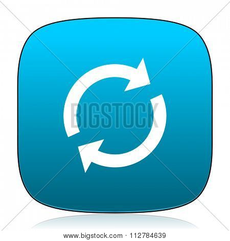 reload blue icon