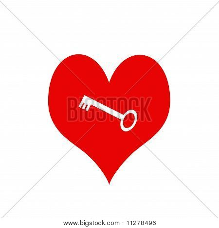 Heart With Key Within