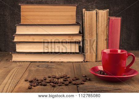 Red Mug And Beans