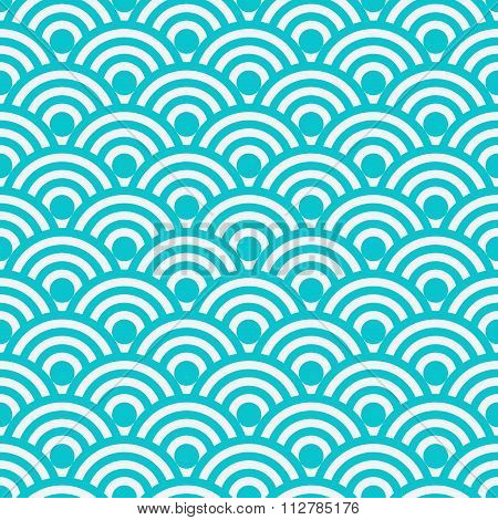 Vector illustration seamless pattern Japanese