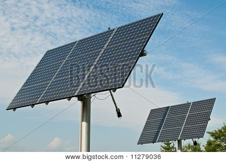 Renewable Energy - Photovoltaic Solar Panel Arrays