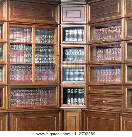 the image of a bookcase