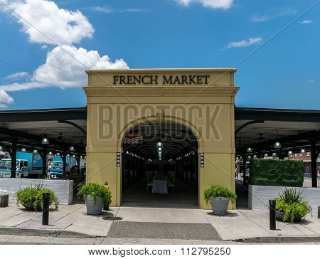 New Orleans French Quarter The French Market