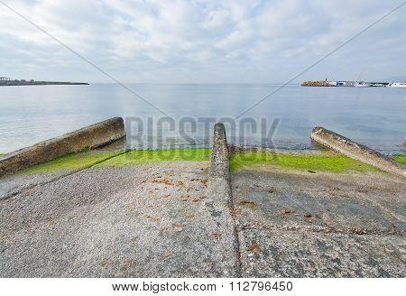 Boat Launching Ramp