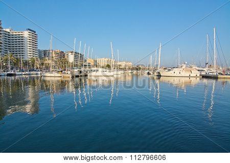 Boats In The Portixol Marina