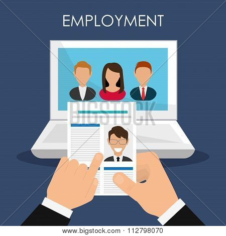 Search and find employment