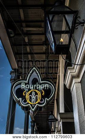 New Orleans A Bourbon Street Bar