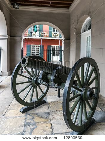 Battle of New Orleans Cannon
